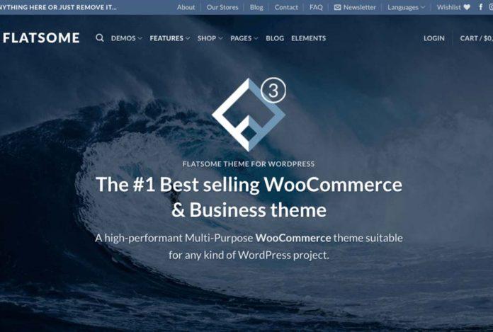 Обзор премиум темы Wordpress Flatsome
