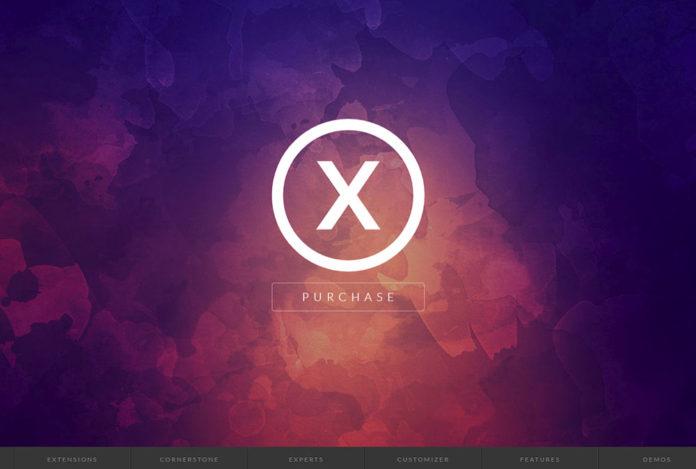 X Theme - скриншот главного фото темы