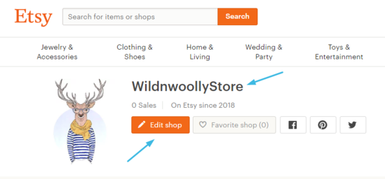 Как добавить магазин Etsy на сайт WordPress