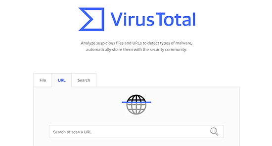 VirusTotal - инструмент для проверки безопасности сайта
