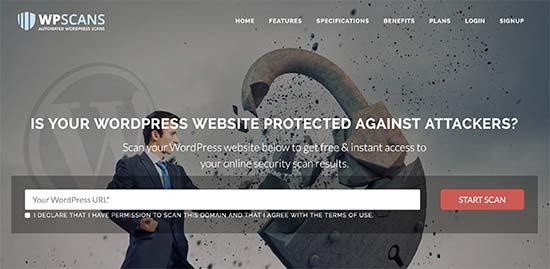 WPScans - инструмент для проверки безопасности сайта