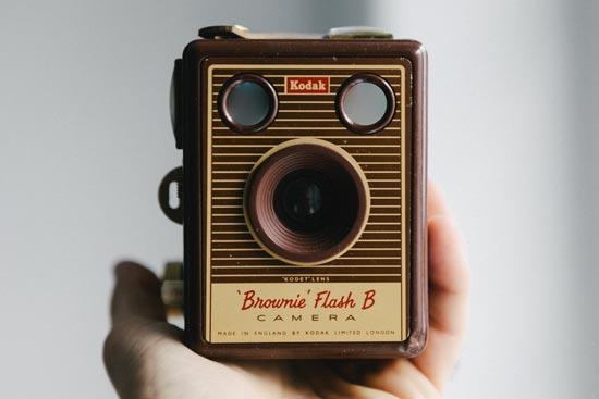 Бесплатные фотостоки - пример фото раритетного Kodak с фотостока Magdeleine