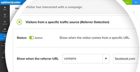Форма OptinMonster - сервиса email-маркетинг
