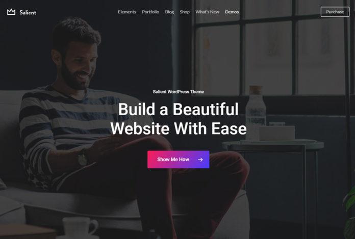 Salient - премиум тема Wordpress. Обзор функционала
