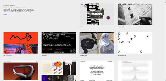 Тренды веб-дизайна 2019 - веб-брутализм