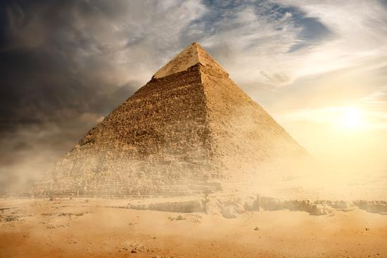Структура сайта похожа на пирамиду