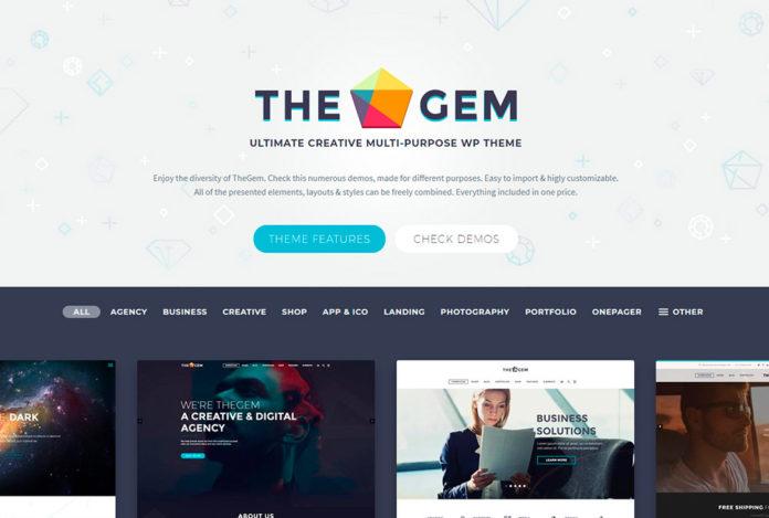 Обзор премиум темы Wordpress TheGem