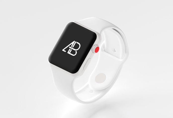 Мокап часов Apple Watch Series 3 скачать бесплатно