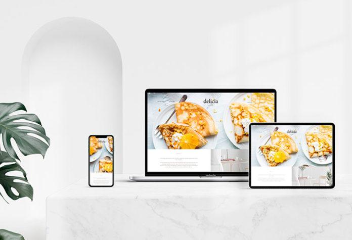 Мокап MacBook, iPad, iPhone скачать бесплатно