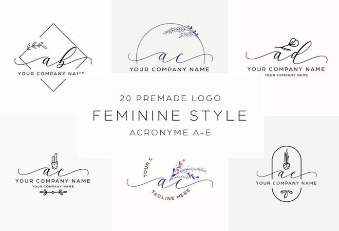Женские логотипы скачать бесплатно