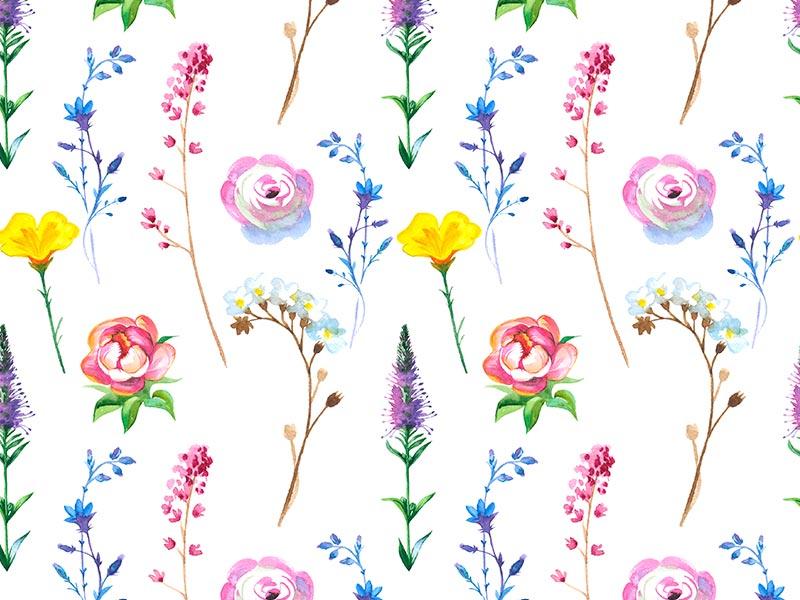 Цветочный паттерн клипарт бесплатно