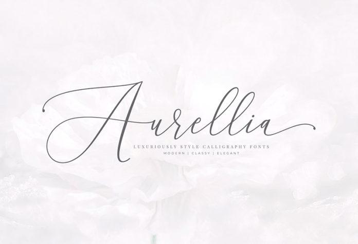 Шрифт Aurellia бесплатно