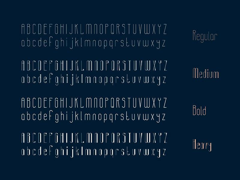 Шрифт Banret бесплатно