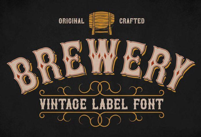 Шрифт Brewery бесплатно