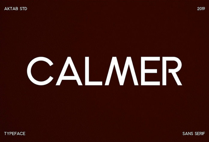 Шрифт Calmer бесплатно