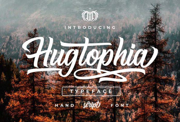 Шрифт Hugtophia бесплатно