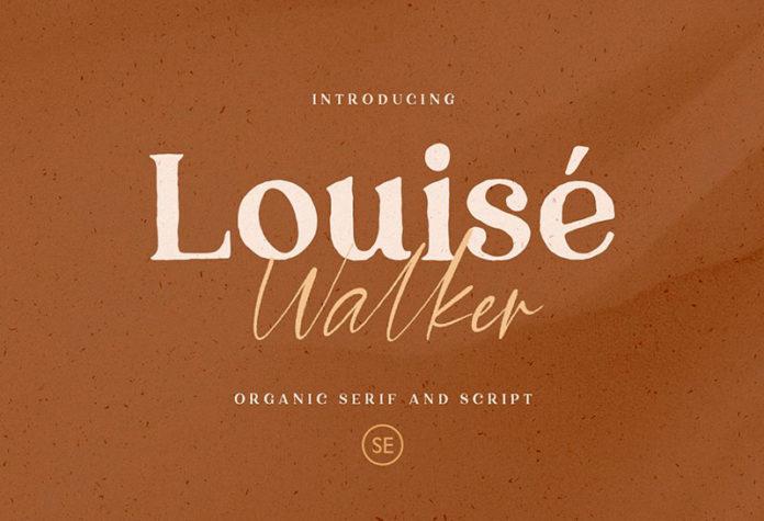 Шрифт Louise Walker бесплатно