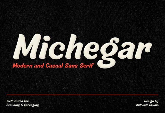 Шрифт Michegar бесплатно