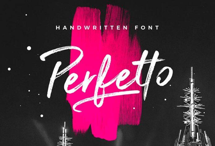 Шрифт Perfetto бесплатно