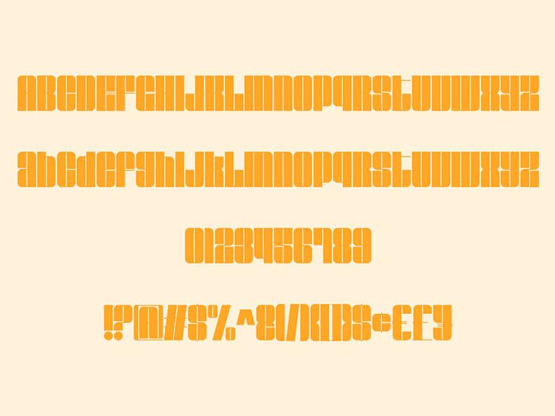 Шрифт Ravenda бесплатно