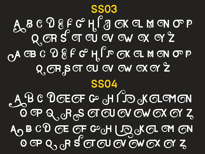 Шрифт Basaro бесплатно